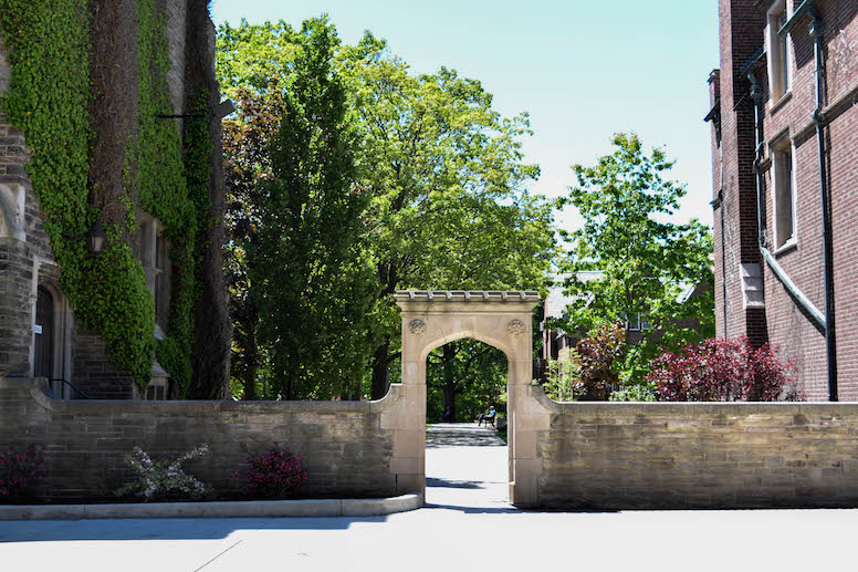 McMaster archway