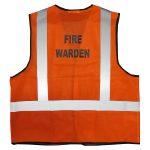 fire warden vest