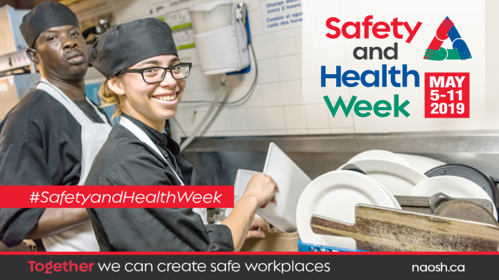 Safety and Health Week 2019 banner