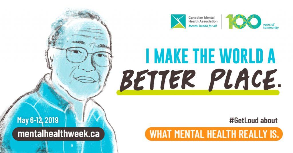 Mental Health Week image 2019