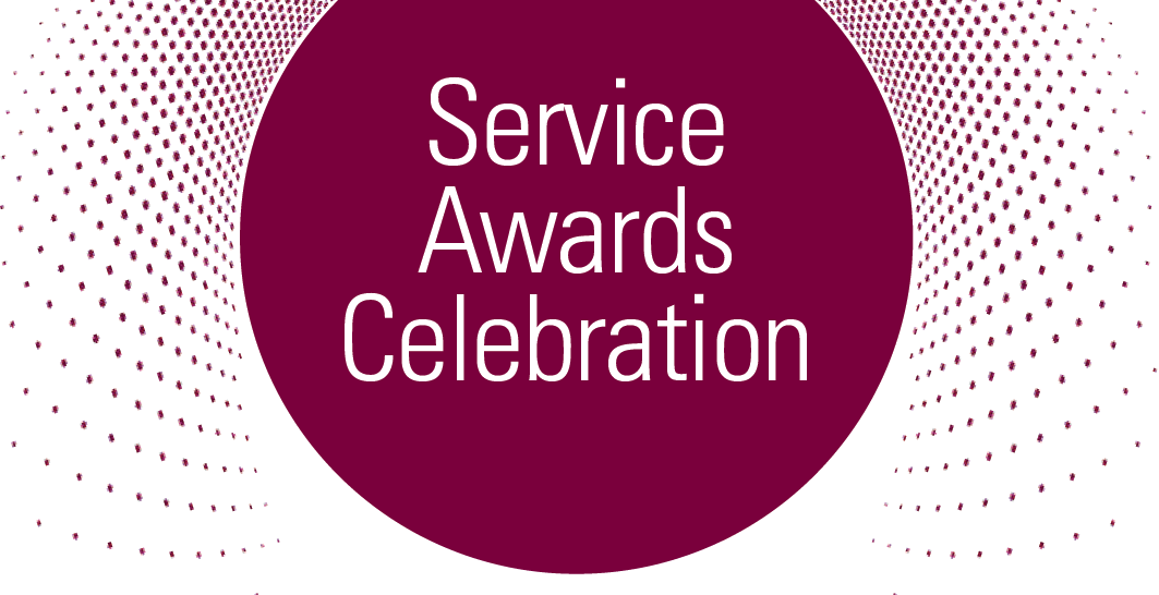 Service awards celebration graphic