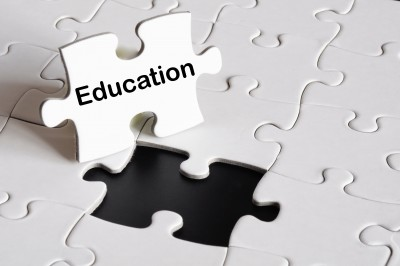 education puzzle pieces