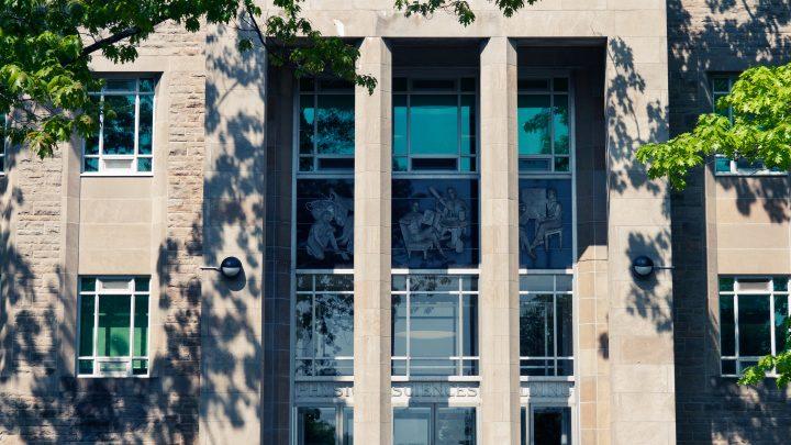 Burke Science Building Exterior
