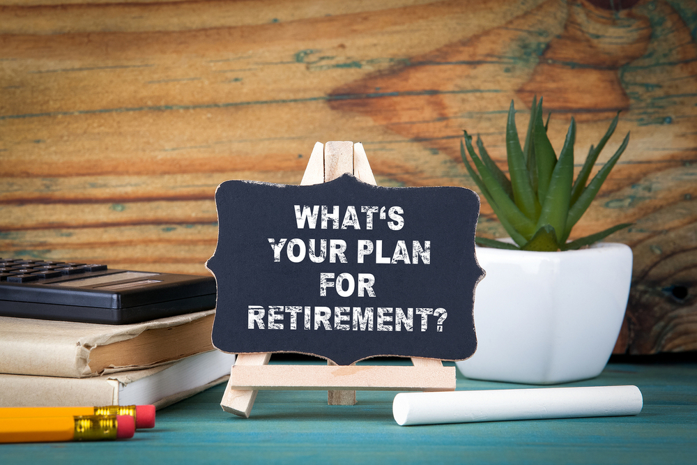 Image of Sign for Retirement Planning