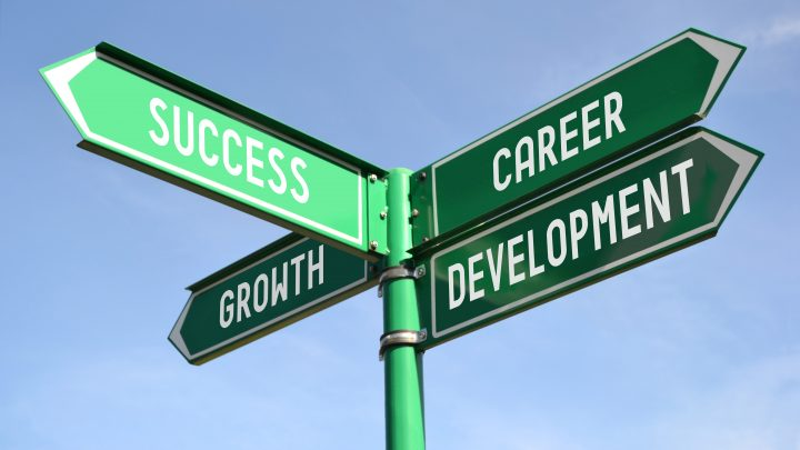 career related sign posts