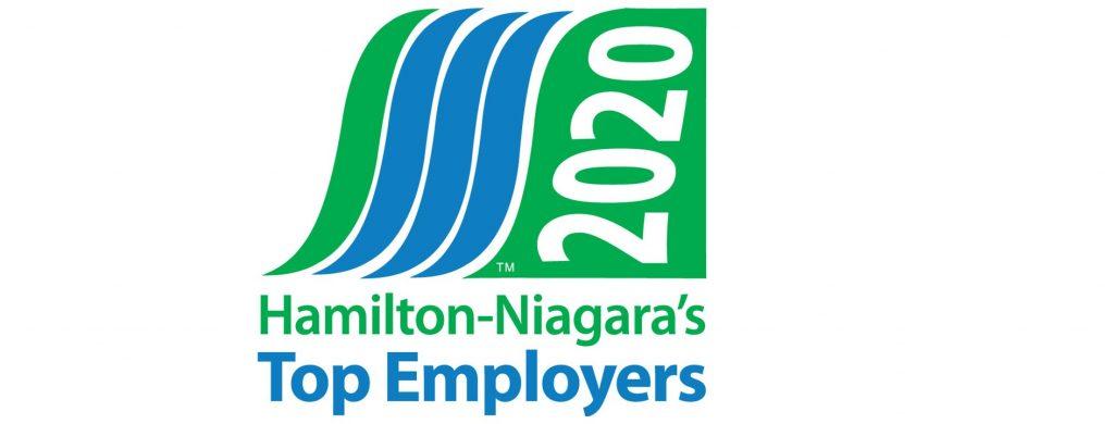 Hamilton Niagara Top Employer logo 2020