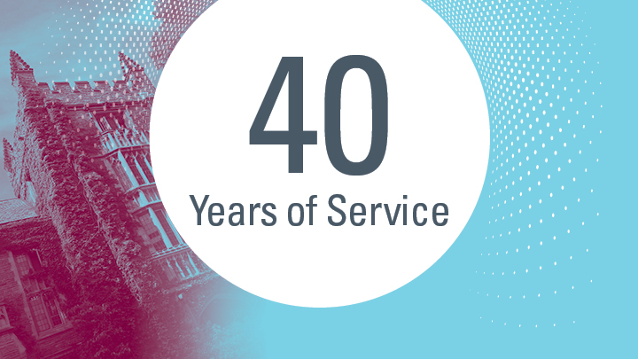 40 years of service
