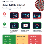 going out and do it safely poster preview