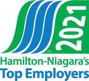 Hamilton Niagara Top Employer 2021 logo