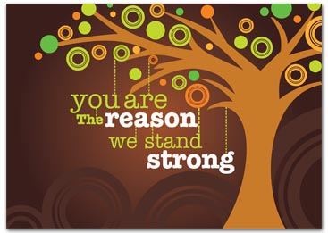 tree- you are the reason we stand strong
