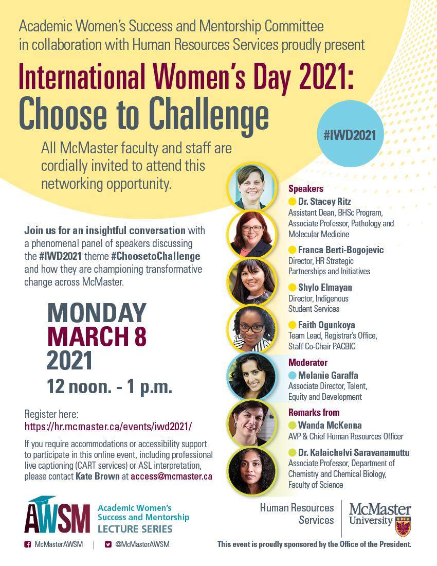 International Women's Day Poster for 2021