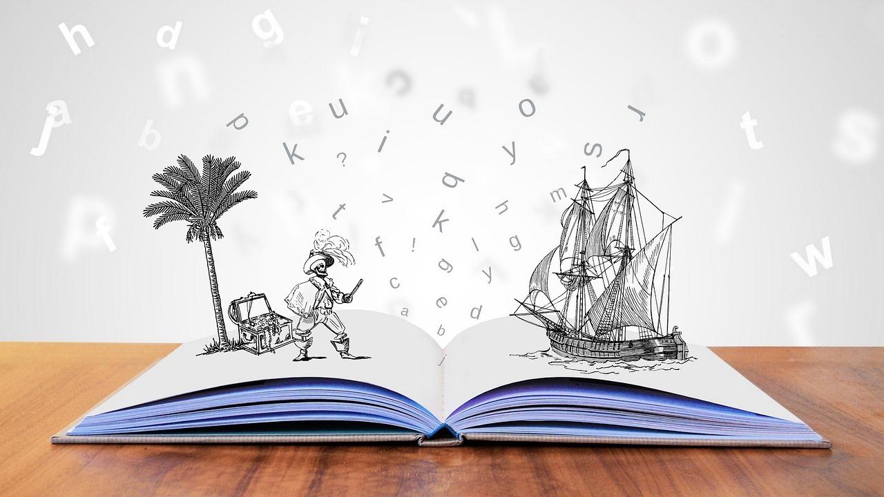 open pop-up storybook